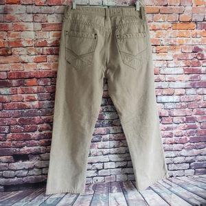 Sean John Mens Brown Tan Beige Sand Jeans Rugged S